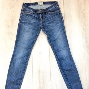 Denim - The Stiletto cropped low-rise skinny jeans
